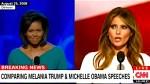 Melania Trump plagiarized