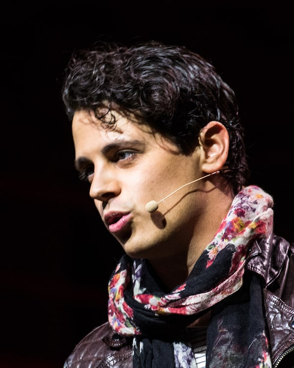 Milo Yiannopoulos, the gay conservative tech editor for Breitbart who ...