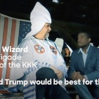 Hillary Clinton Ties Donald Trump to Klan, White Supremacists, Alt-Right in New Ad, Speech: WATCH