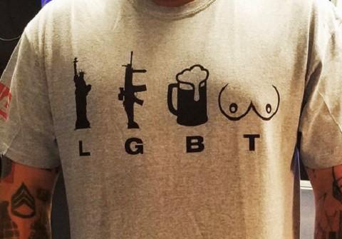 from Harlan anti gay shirt
