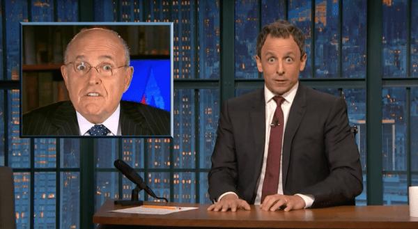 Rudy Giuliani Says Donald Trump Is an 'Absolute Genius' for Avoiding Taxes