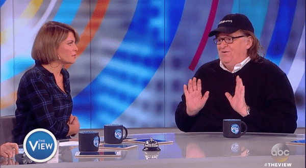 Michael Moore Says Voting For Donald Trump Is Just Legal Terrorism