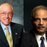 Michael Mukasey Eric Holder