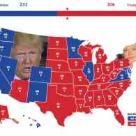 electoral college map