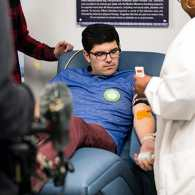 Jay Franzone blood donation