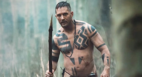 Tom Hardy in Taboo on TV this week