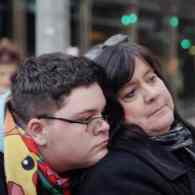Gavin Grimm and mother