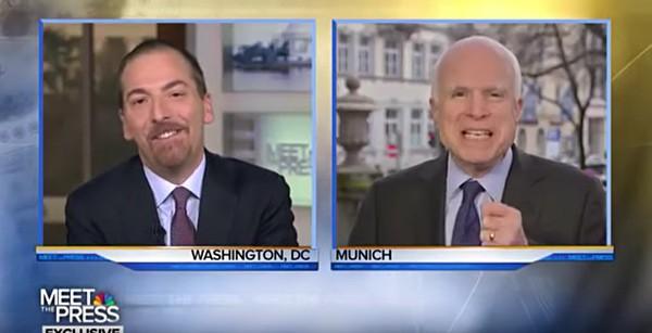 Chuck Todd John McCain dictators