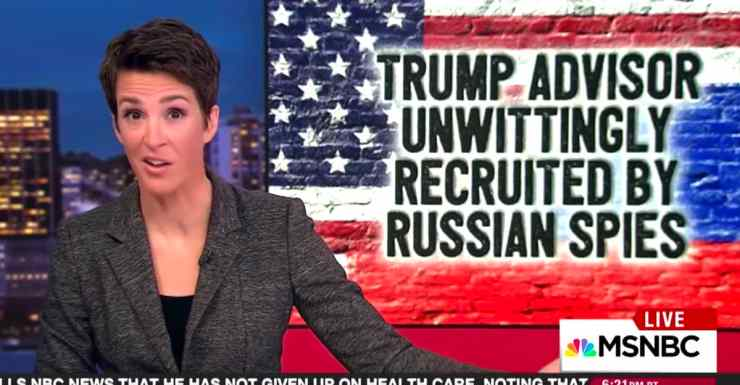 Rachel Maddow Jared Kushner
