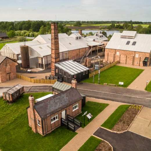 LSW Aerial view of Lion Salt Works Museum