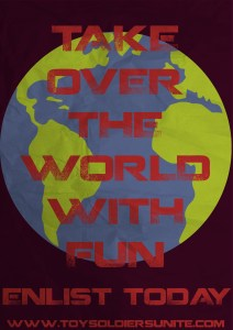 Take Over The World Poster by SilentAddle