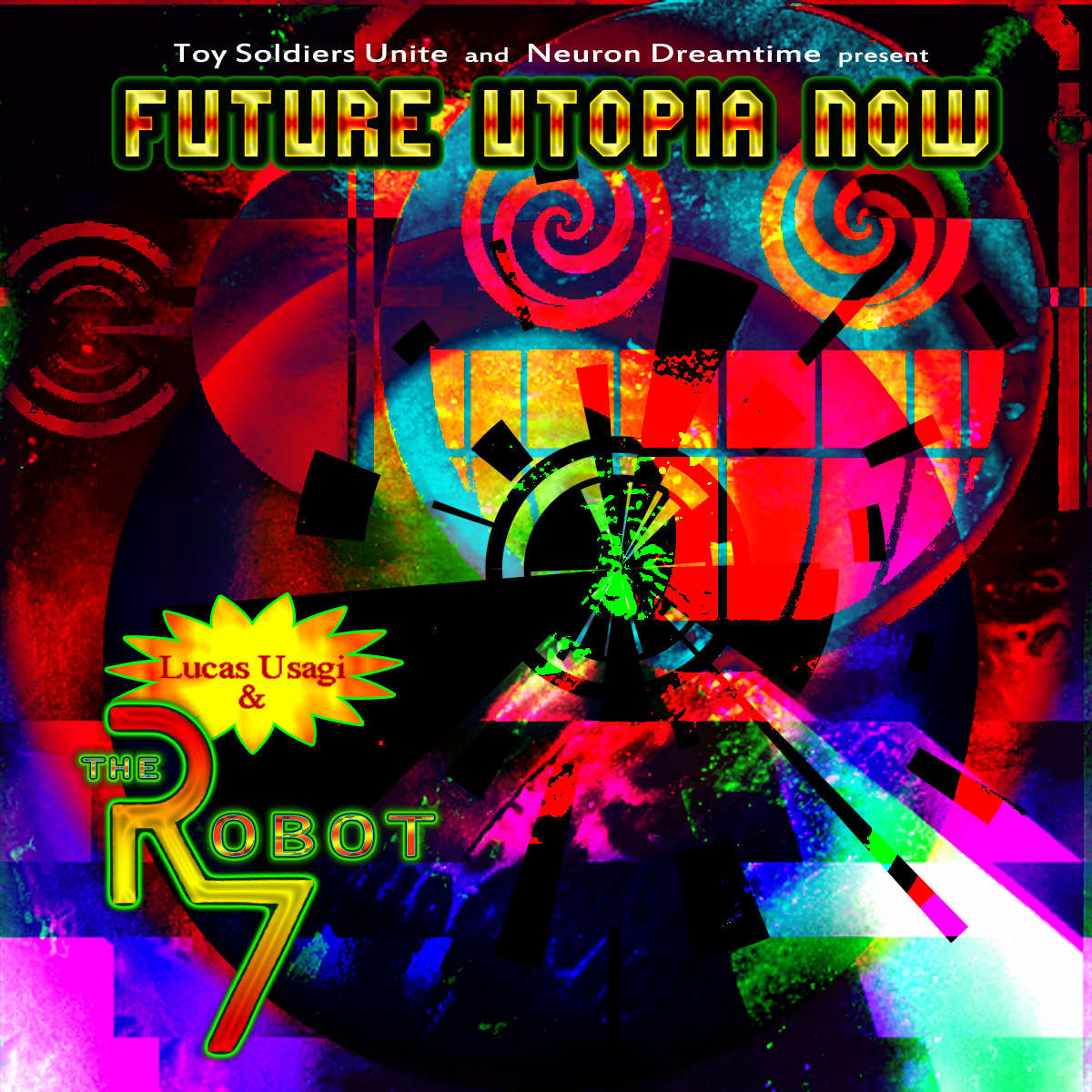 Lucas Usagi & The Robot 7 - Front Cover