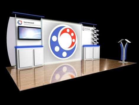 10′ x 20′ Modular Trade Show Display Design