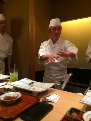 นาย Yosuke Imada แห่ง Ginza Kyubey