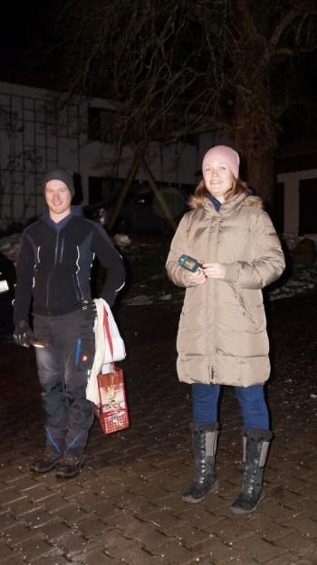 Waldweihnacht 2017 Martin Stephan und Barbara Bartl