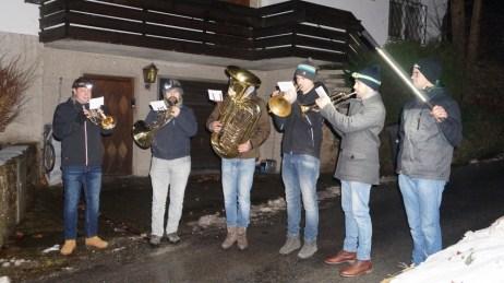 Waldweihnacht 2017 Hirnsberger Blechbläser Quintett