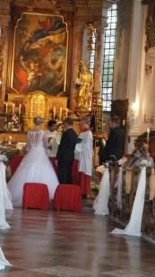 Hochzeit Christiane und Ludwig Strohmayer mit Pater Joshi 05.10.2019