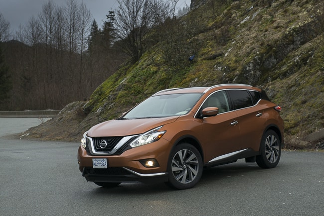 first drive review 2015 nissan murano. Black Bedroom Furniture Sets. Home Design Ideas