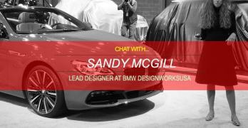 Chat with Sandy McGill of BMW DesignworksUSA