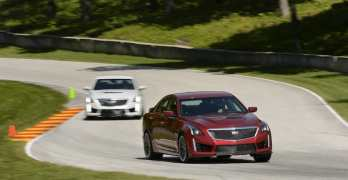 First Drive: 2016 Cadillac CTS-V at Road America [Video]