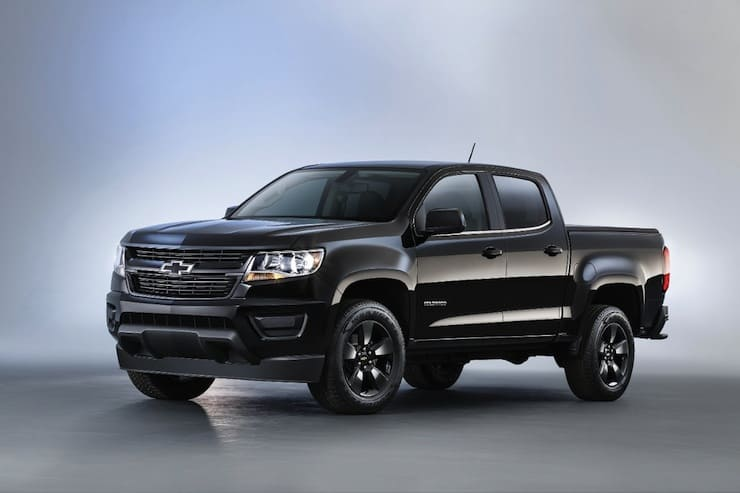 2016 chevy colorado midnight edition and z71 trail boss. Black Bedroom Furniture Sets. Home Design Ideas