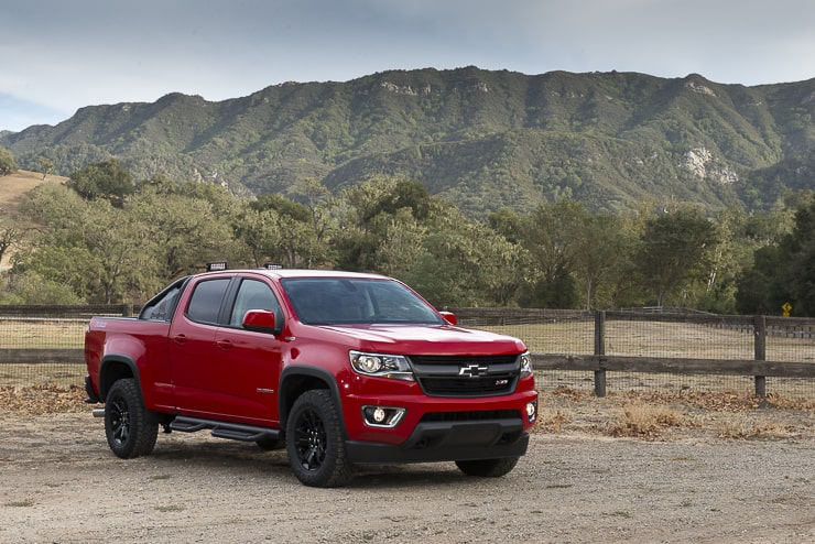 In Pictures: 2016 Chevy Colorado Trail Boss in Solvang, CA