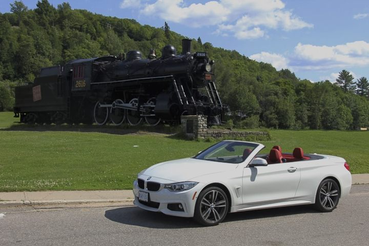 Escaping the city madness in a 2015 BMW 435i Convertible