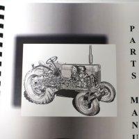 Mitsubishi MT2201(D) & MT2501(D) Tractor Parts Manual