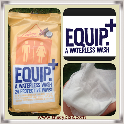 Tracy Kiss Reviews EQUIP Waterless Wash Wipes