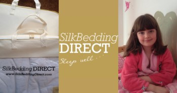 My Daughter Millisent  Loves Her Silk Bedding Direct Silk Filled Duvet