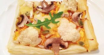 Pumpkin And Cauliflower Cheese Puff