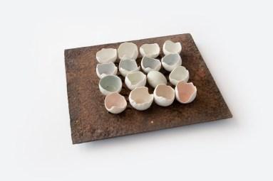 Egg Shell Bowls - Tracy Muirhead