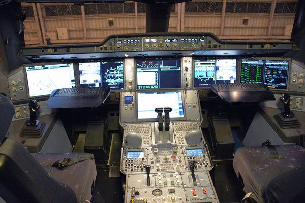 操縦室イメージ