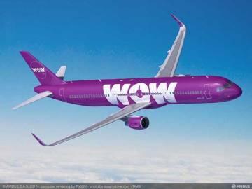 WOWエア(A321)