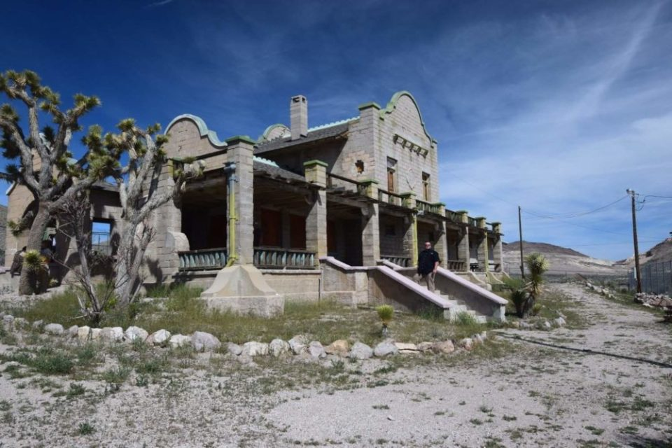 Former train station of Las Vegas and Tonopah Railroad