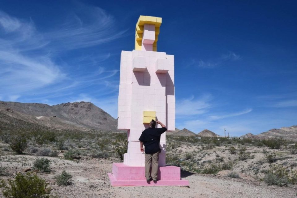"Sig says ""Hi"" to the Lady Desert, The Venus of Nevada"