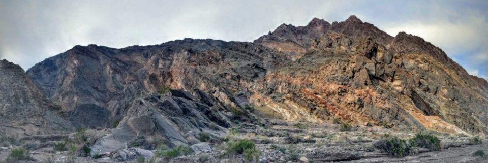 Titus Canyon Walls