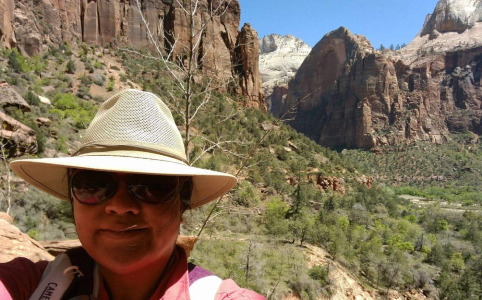 Obligatory Selfie on the Kayenta Trail