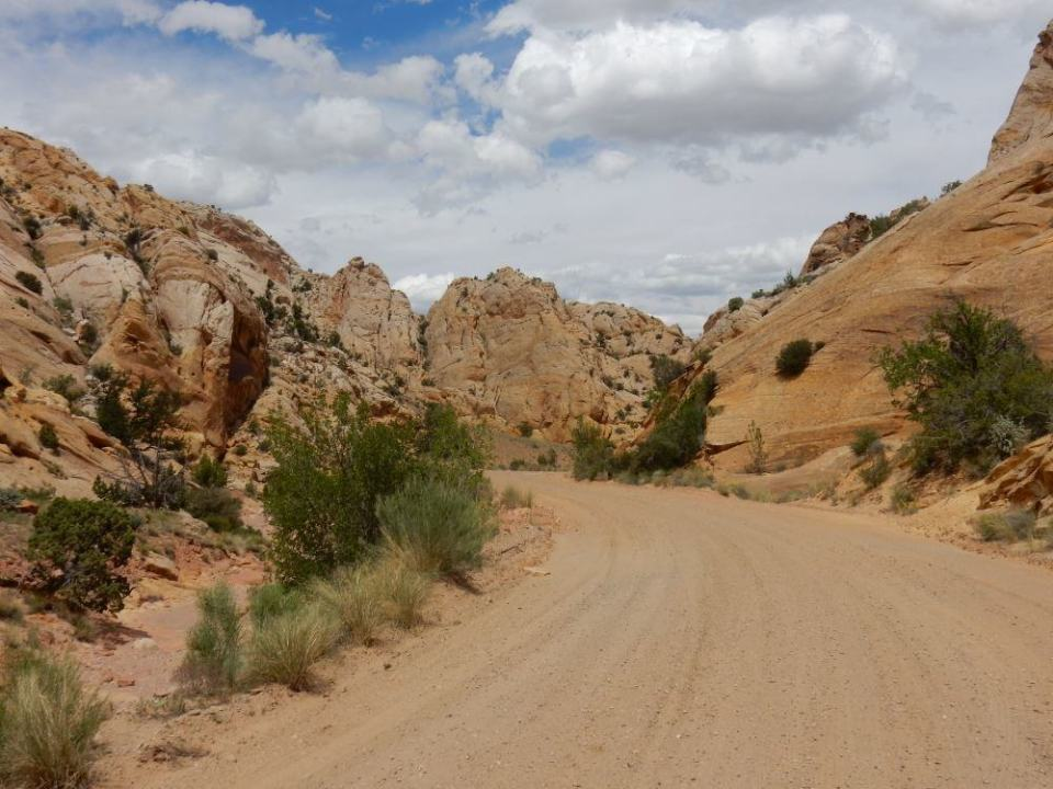 Dirt Roads can take you to amazing places, but leave the big rigs at the RV park.