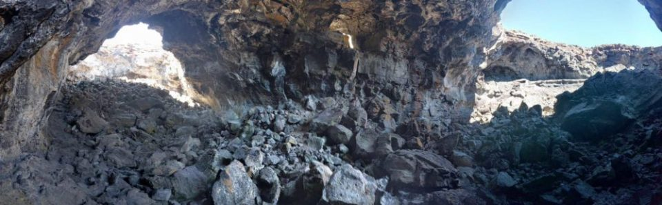 Inside Indian Cave