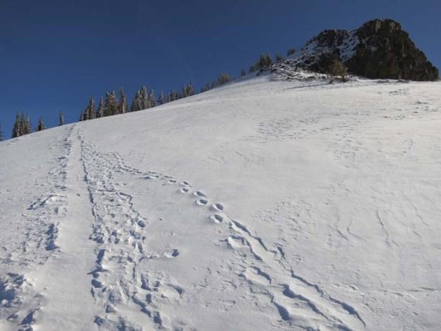 West Ridge of Castle Peak