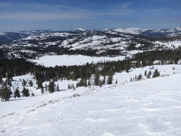 Round Valley from Ridge
