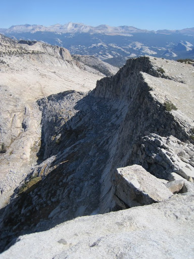 Tuolumne Meadows from the summit of Mount Hoffmann