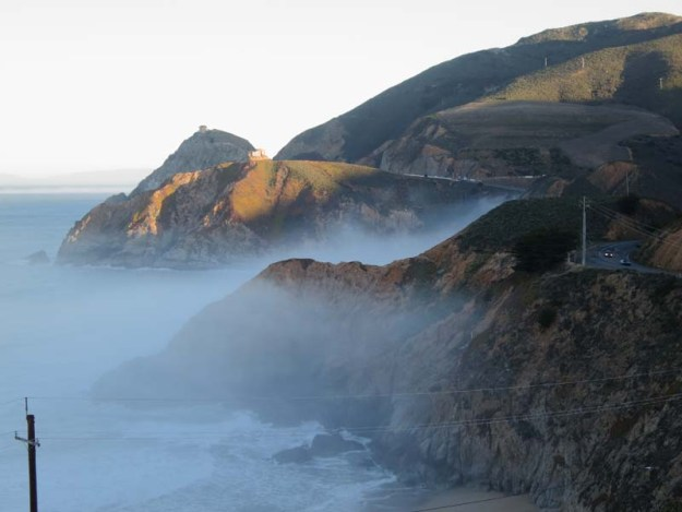 Foggy Cliffs