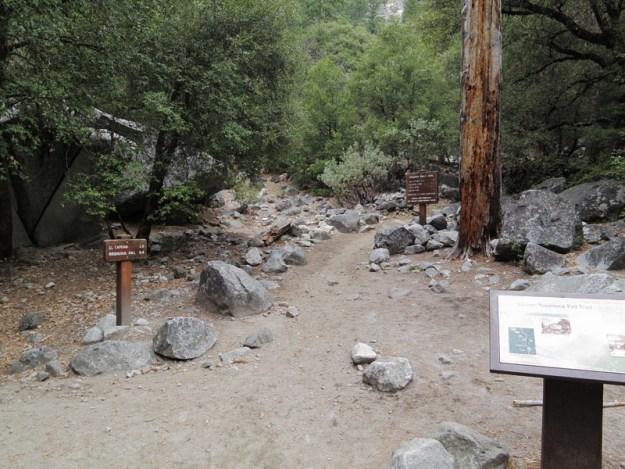 Upper Yosemite Falls Trailhead