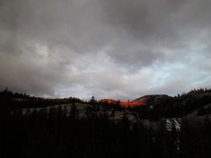 Last Alpenglow
