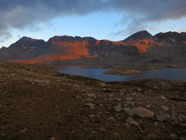 Wanda Lake Alpenglow