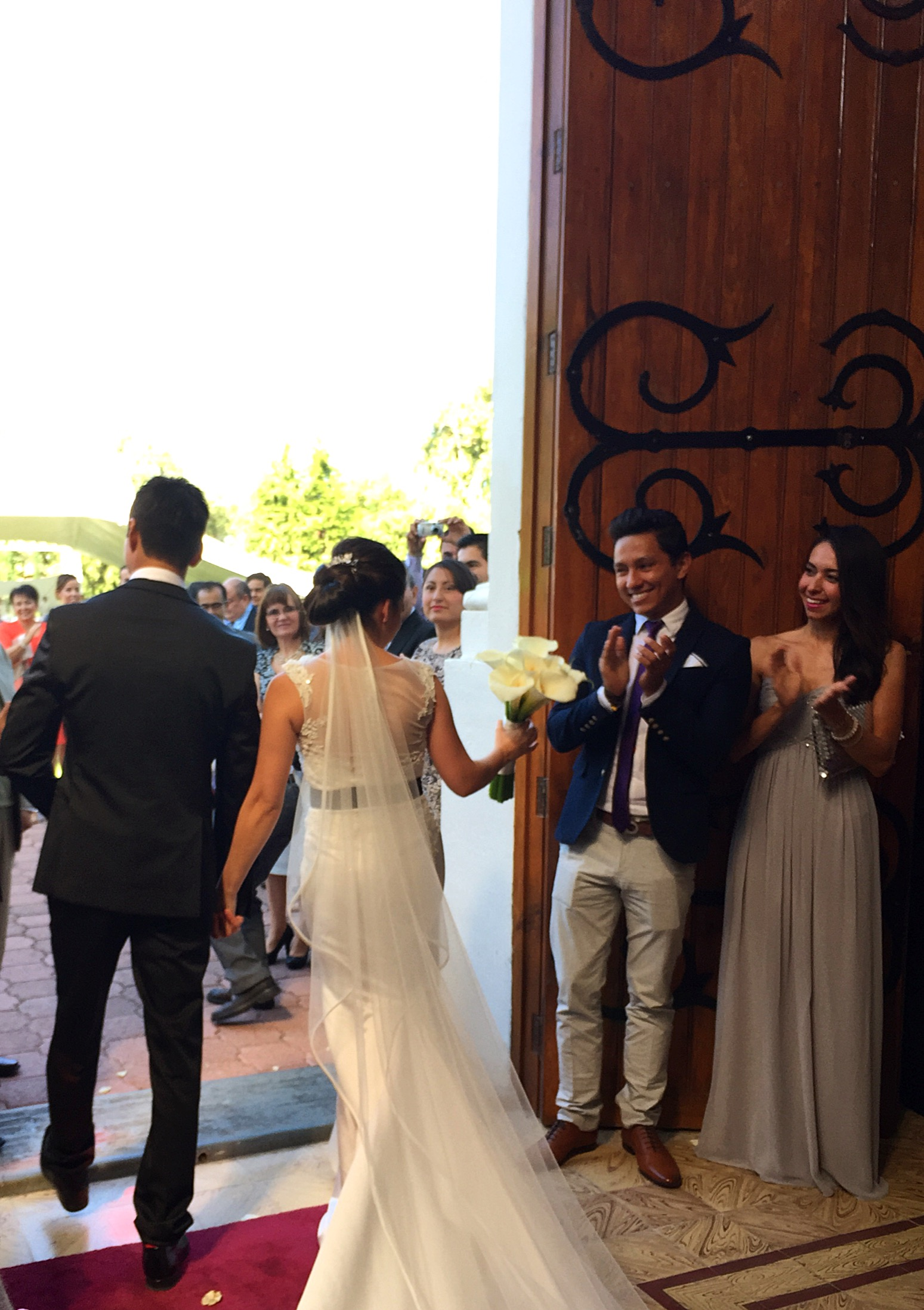 Formal mexican wedding