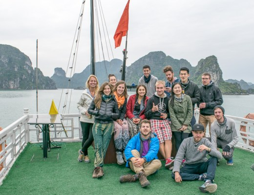 Take a Halong Bay Cruise, Make Lots of New Friends, Proceed to Travel Vietnam - Trailing Rachel