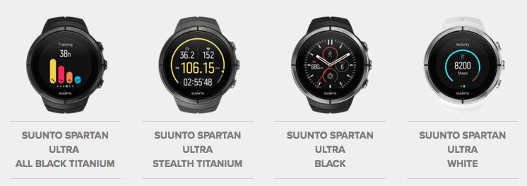 Suunto Spartan Ultra Modeller